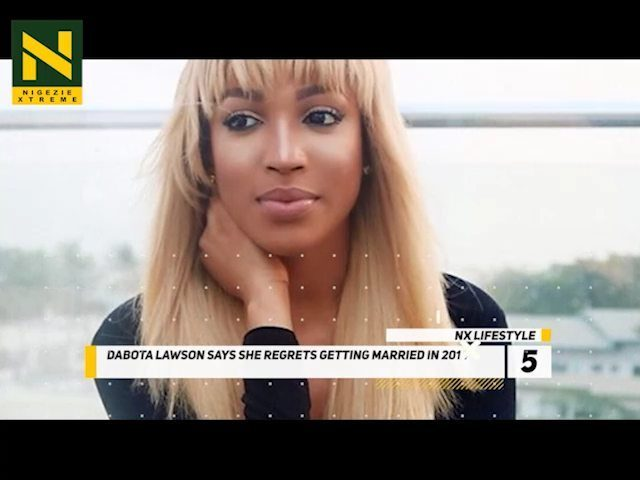 SEE WHY DABOTA LAWSON REGRETTED HER 2014 MARRIAGE . #NxLifestyle...