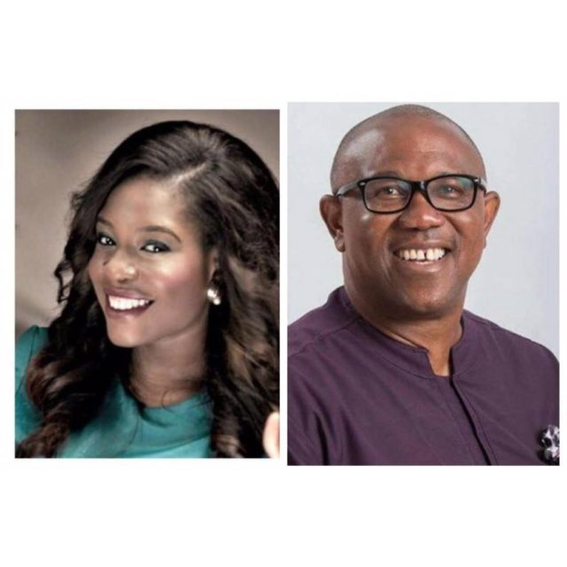 KEMI ADETIBA's AIRPORT EXPERIENCE GETS RESPONSE FROM PETER OBI ....