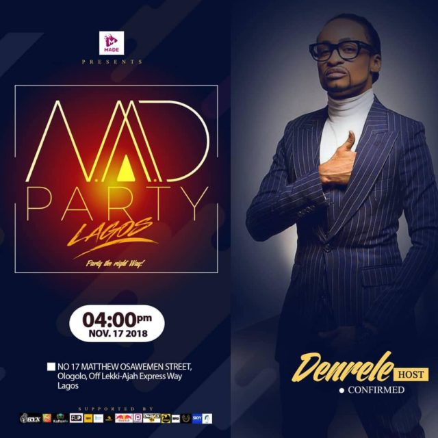 MAD PARTY LAGOS AND MORE CELEBRITIES LINED UP!! . #NXEvents...