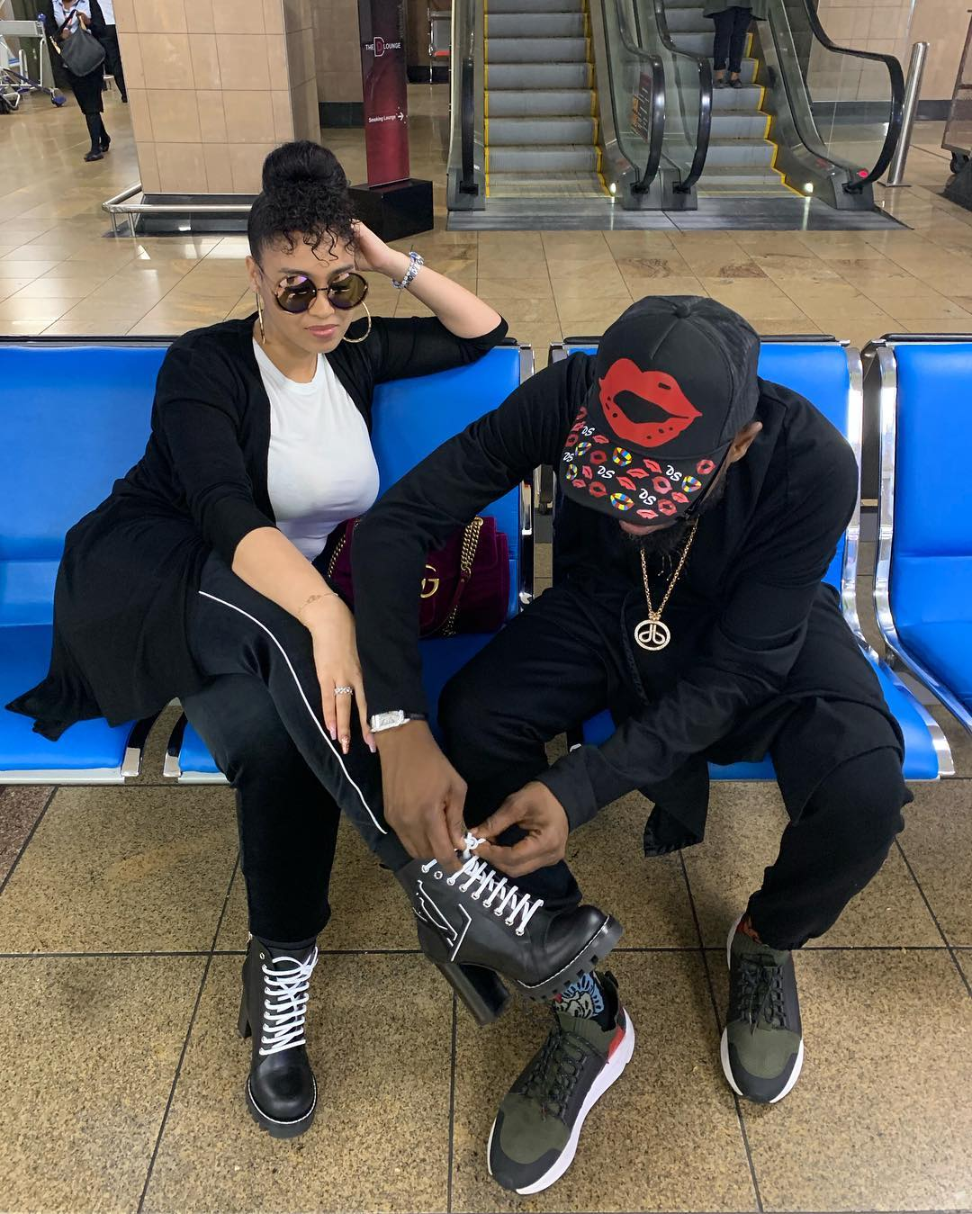 Dbanj & wife vacation
