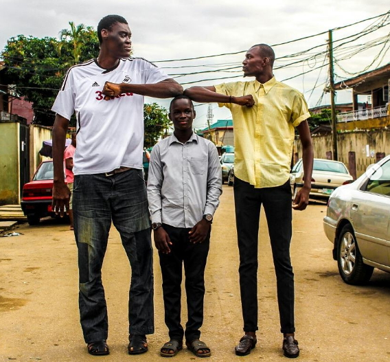 tallest man in Nigeria