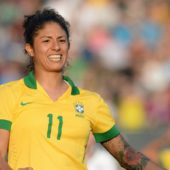 Cristiane: Brazil striker makes Women's World Cup history in win over Jamaica