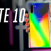Samsung Galaxy Note 10 doesn't have a stainless steel frame