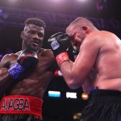 Efe Ajagba remains undefeated