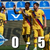 Barcelona Vs Alaves was a clean sweep by the dethroned champions.